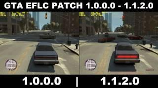 GTA EFLC PATCH 1.0.0.0 VS 1.1.2.0 Comparisons FPS/GPU USAGE