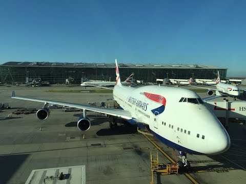 British Airways - World Traveller / Economy Class - BA107 - London to Dubai - B747