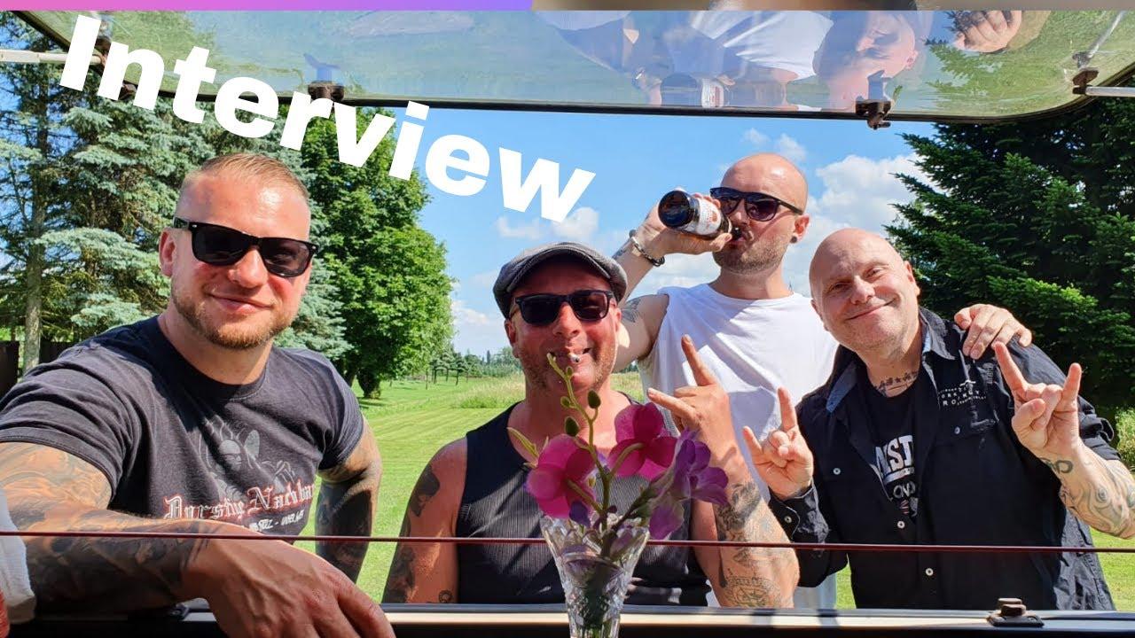 Rotz und Wasser  Interview im Wohnwagen 🍻😁✌