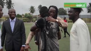 Eric Bailly accueilli comme un prince à Abidjan après avoir signer à Manchester United