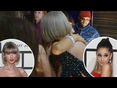 2016 Grammy Awards- Taylor Swift & Ariana Grande Share Sweet Hug Backstage At 2016 Grammys Mp3