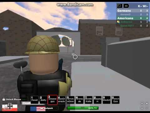 Roblox Wwiibattle For Carentan Class Elite Youtube