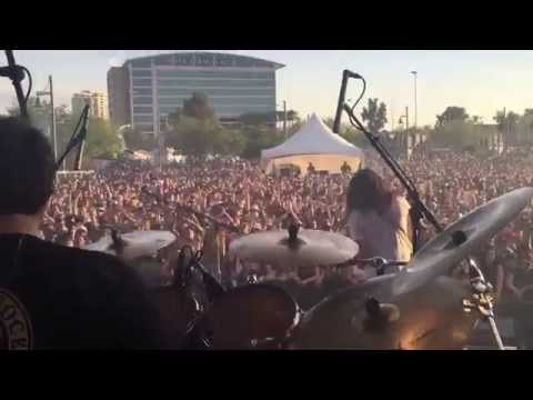The Expendables at Pot Of Gold Music Festival in Tempe, AZ. 3.14.2015