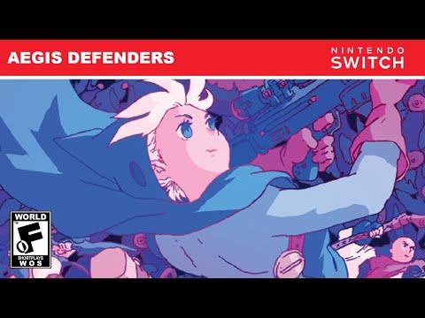 AEGIS DEFENDERS (NINTENDO SWITCH) SHORTPLAY   WORLD OF SHORTPLAYS  