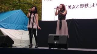 映画「美女と野獣」勝手に公開記念(笑) RiRiKAちゃん、まりゑちゃんの美...