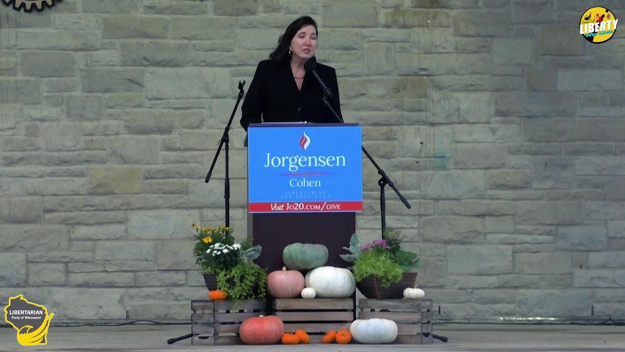 Dr. Jo Jorgensen in Milwaukee, WI!