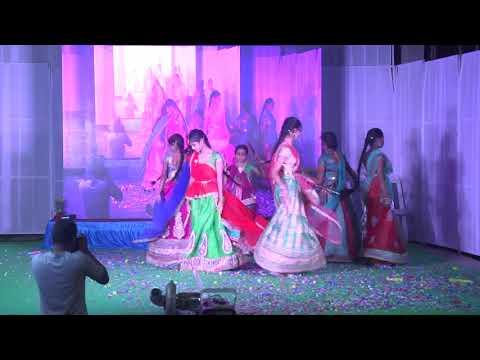 KASHMIRI,MANIPURI&RAJASTHANI  DANCE BY 8TH GIRLS