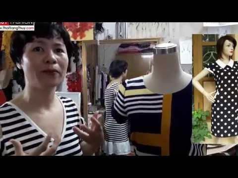 Dậy Cắt May: Thiết Kế Váy Suông Thân Trước Tại Thời Trang Thủy - Design Shift Dress
