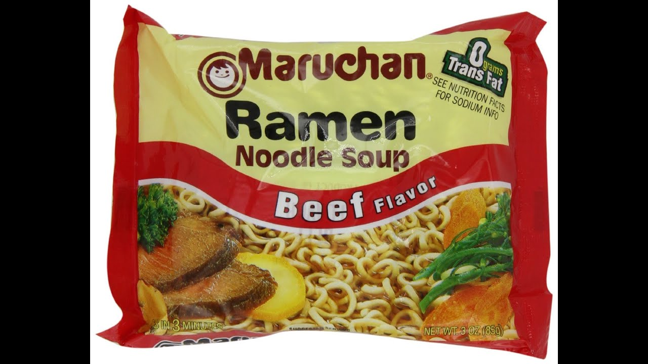 Ramen Noodles In The Microwave