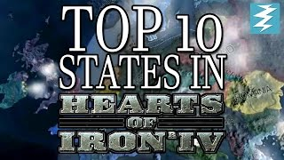 Top 10 Most Valuable States In Hearts of Iron 4 HOI4