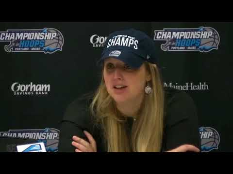 Maine Women's Basketball America East Championship Press Conference
