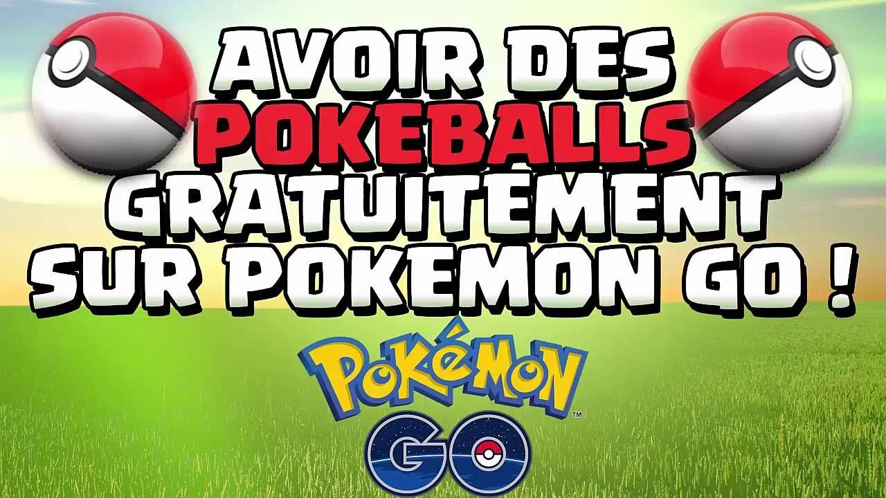 Tuto Avoir Des Pokeball Gratuitement Sur Pokemon Go Youtube