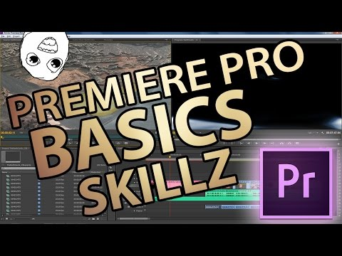 Adobe Premiere Pro - Basics (Schneiden, Rendern, Settings etc.)