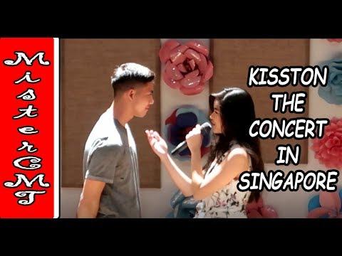 KISSTON SINGAPORE CONCERT  -  KISSES TONY and YLONA with the Kissables
