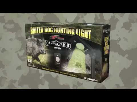 ASF Boar Light - Motion Activated Green Hog Hunting Light