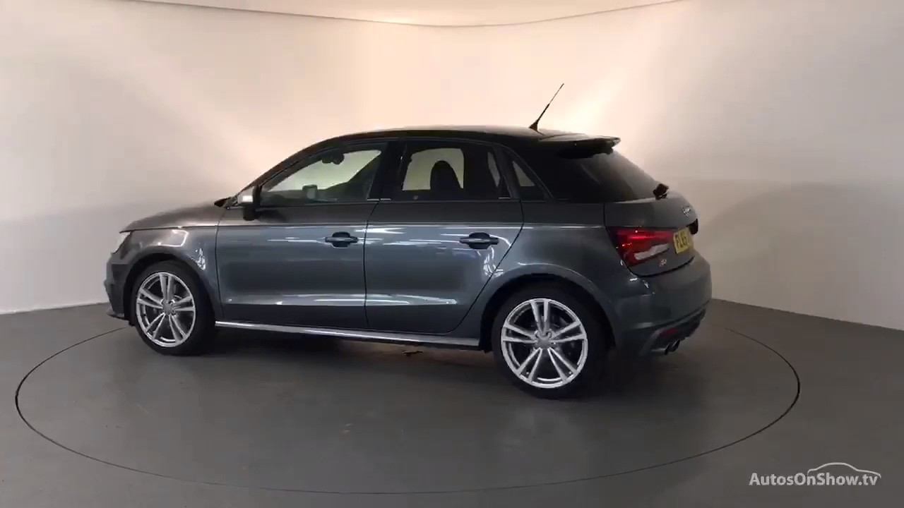fl65juo audi a1 s1 quattro sportback grey 2015 derby audi youtube. Black Bedroom Furniture Sets. Home Design Ideas