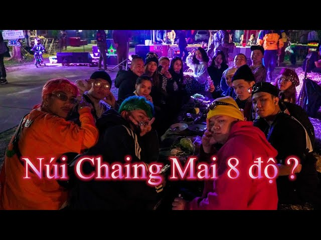 Cắm Trại Núi Chaing Mai Thái Lan | Ăn Uống Nhảy Nhót Cùng Người Thái | Barber Camp