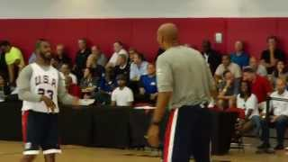 Monty Williams Wired at USA Basketball Mini Camp