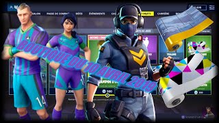 FORTNITE: Shop of the day April 10, 2019, SKIN BALISEUSE, EMOTE SOLO DE SAXO, item shop