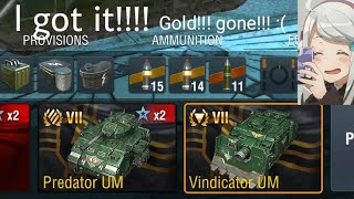 WORLD OF TANKS BLITZ - Finally Got It!!! PREDATOR AND VINDICATOR