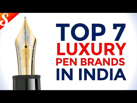 Top 7 Luxury Pen Brands In India With Price Range | Best Gifting Idea