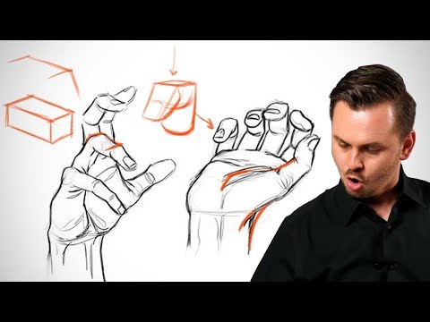 👉What Everyone Gets Wrong Drawing Hands - Hand Critiques👈