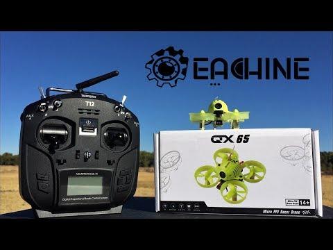 Eachine QX65 Tilt Adjustable Camera Betaflight OSD 65mm Micro FPV RC  Quadcopter