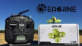 Eachine QX65 Tilt Adjustable Camera Betaflight OSD 65mm Micro FPV RC  Quadcopter