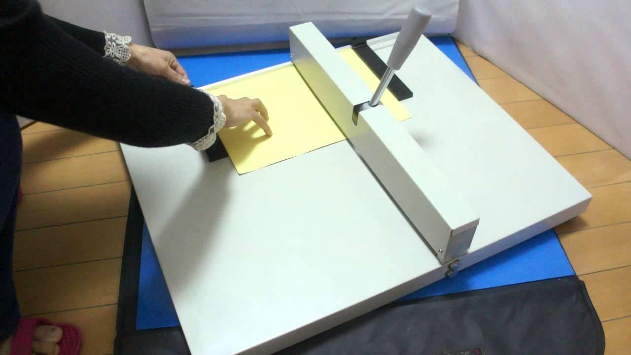 Manual Paper Scoring Heavy Duty Creasing Machine  paper