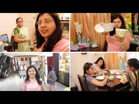 Shopping With My Mom & Haul | Special Recipe - Indian Lunch to Evening Routine | Maitreyee's Passion