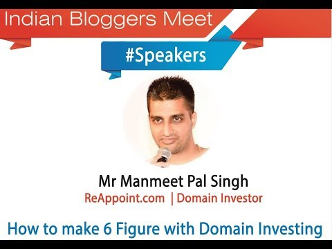 Manmeet Pal Singh – How to make 6 Figure with Domain Investing