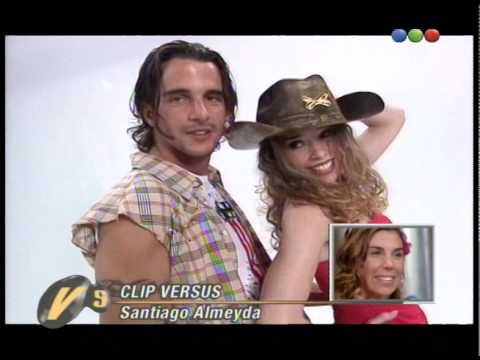 Santiago Almeyda, sexy clip - Versus