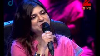 Sa Re Ga Ma Pa Gane Gane Tomar Mone - August 28, 2014 - Pronoy and Karthik Baul