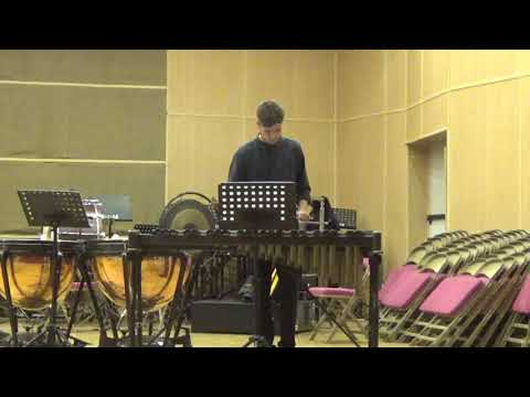 Ismael Lopez Sonatina nº 3 M Clementi xilofono Conservatorio Profesional Municipal Mota del Cuervo