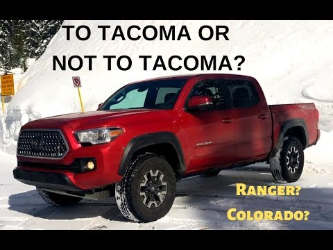 The 2018 Toyota Tacoma TRD has Competition