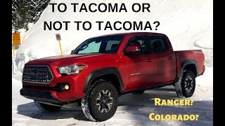 homepage tile video photo for The 2018 Toyota Tacoma TRD has Competition