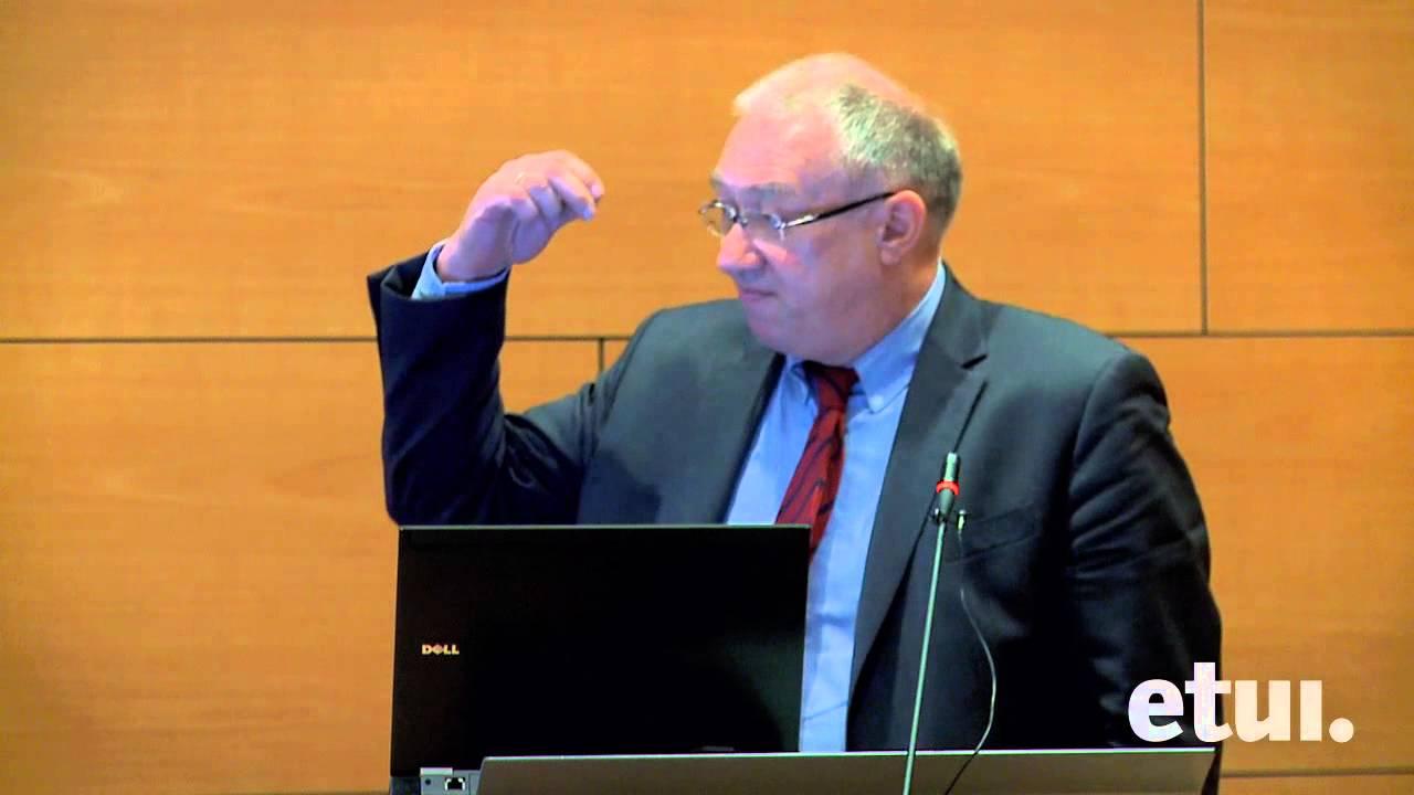 Professor Dr  Gustav A Horn, IMK Director at the Hans Böckler Foundation