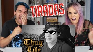 REACT TOP 10 MELHORES TIRADAS DOS YOUTUBERS (Turn Down For What TV)