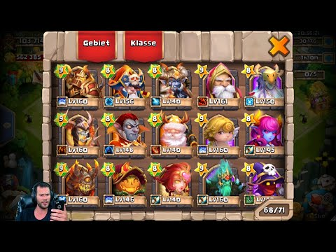 15 Treasure Chests For ELECTRICA 30k Gems For Talents German Castle Clash