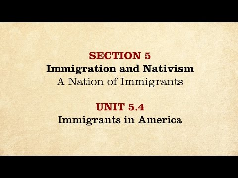 MOOC | Immigrants in America | The Civil War and Reconstruction, 1850-1861 | 1.5.4