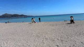 Playa de Muro, Mallorca, March 2016