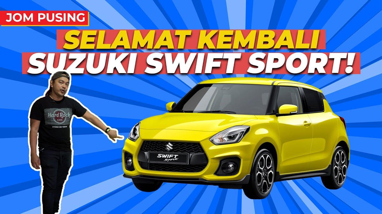 SUZUKI SWIFT SPORT 2021, 1.4L TURBO BOOSTERJET, RM139.9K JE!