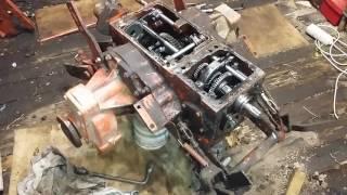 KMZ 012 mushuk 1 raspolovinivanie traktor ta'mirlash