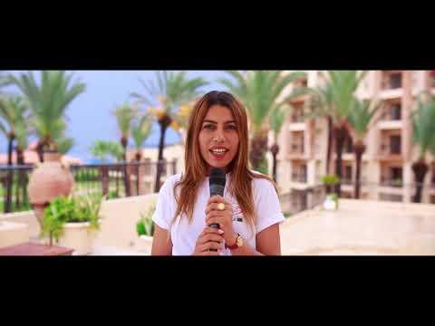 """Flashmob  de """"Femme d'influence"""" pour la paix et la fraternité en Tunisie"""