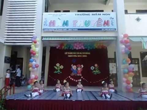 Mua Hay Hat Len Ban oi - Lop La Truong Mam Non Han Thuyen