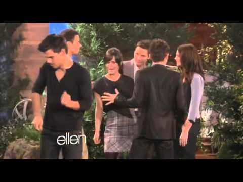 Elizabeth Reaser dancing - Ellen