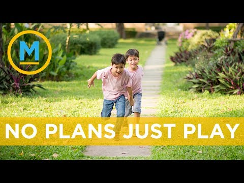 These are the benefits of unstructured play for children in the summer | Your Morning