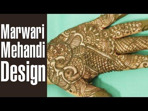 Splendid Marwari Mehndi Design To Glam Up Your Hands
