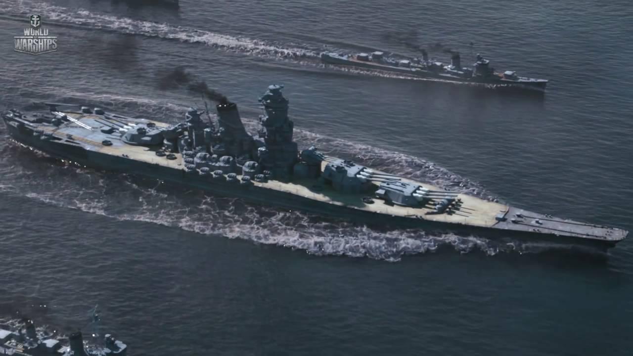 World Of Warships Yamato Last Battle Duty Calls Cgi