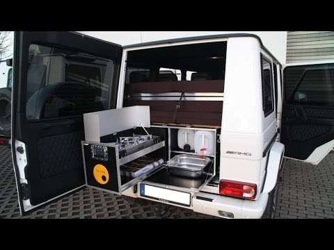Ququq an all-in-one camper box by G-Box for The G-Class ...